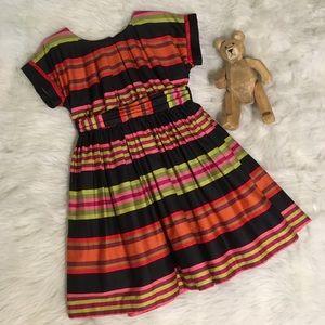 [Tea Collection] Elegant Striped Dress